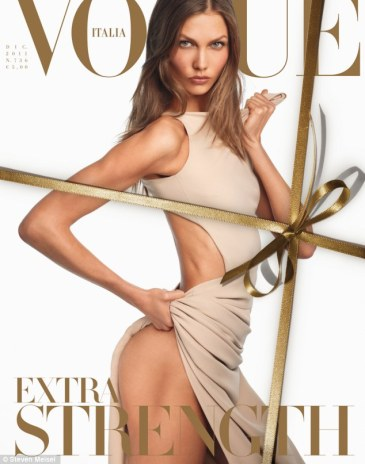 Karlie Kloss Vogue Italia cover